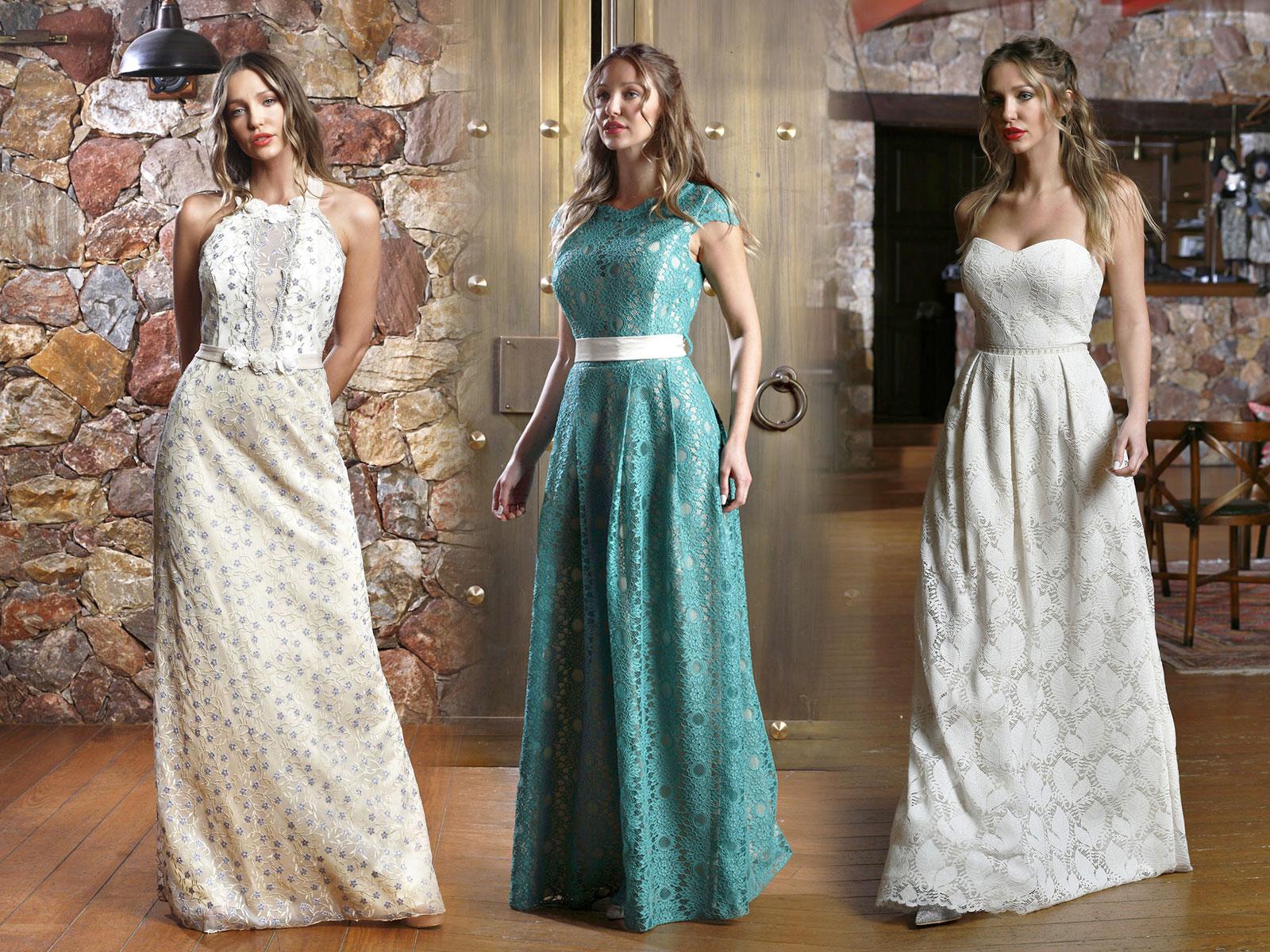 Γυναικεια ρουχα φορεματα βραδυνα για πολιτικο γαμο αρραβωνα φορμες ολοσωμες  μοντερνες Α2 beb41c49a87