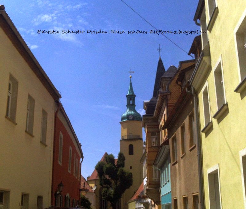 schmale Gassen in der Altstadt Pulsnitz