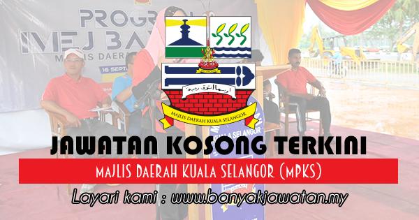 Jawatan Kosong 2017 di Majlis Daerah Kuala Selangor (MPKS)