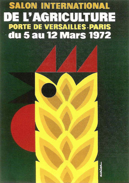 Salon International versailles 1972 poster