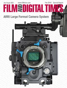 ARRI LARGE FORMAT CAMERA SYSTEM UNVEILED AT BSC EXPO