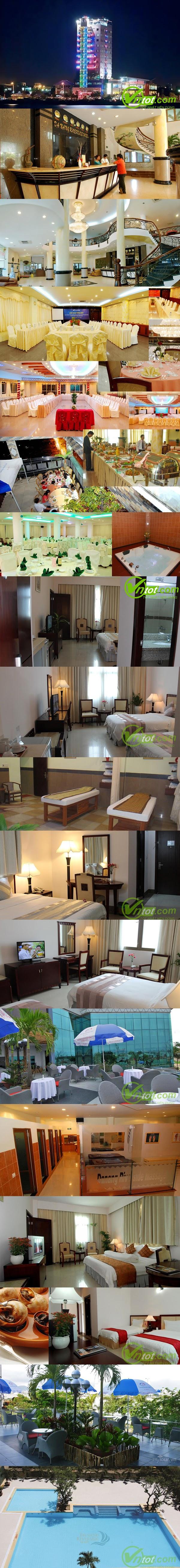 khách sạn gần cầu Rồng chất lượng tốt: Khách sạn Reiverside Đà Nẵng