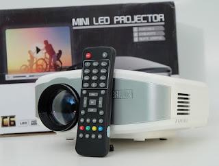 Jual Proyektor Mini CHEERLUX C6 Bekas