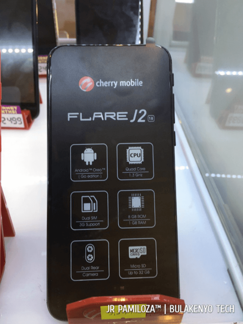 official photos 905f1 f1829 Cherry Mobile Flare A2 Lite, Flare J2 (18), and Flare HD 4 Android ...