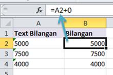 Rumus Excel Penambahan