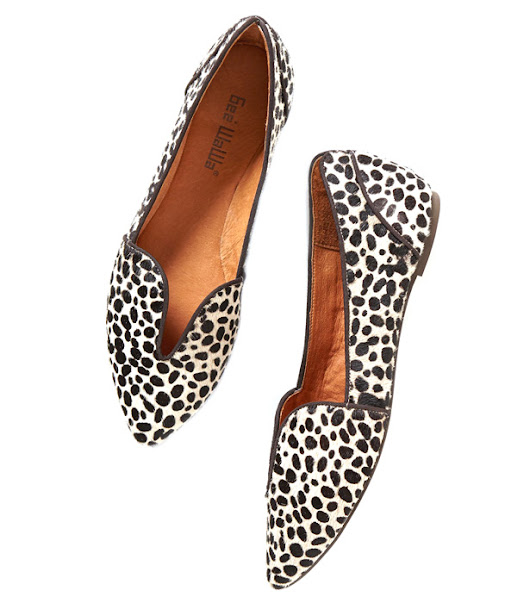 I spy :: Gee Wawa Lydia Cut-out Loafers (Anthropologie)