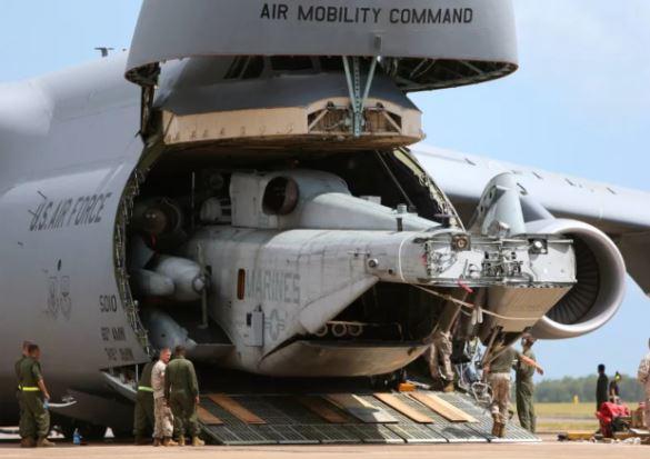 C-5 Galaxy cargo