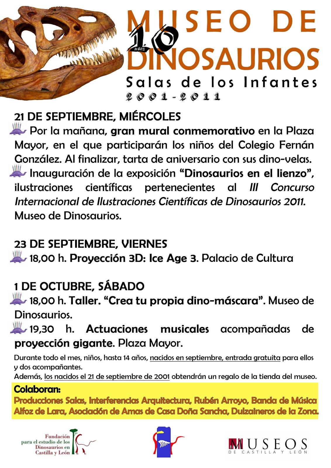 Fundacion dinosaurios cyl septiembre 2011 for Articulo de cultura para periodico mural