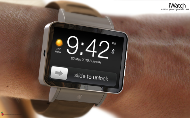 [ Rumors ] Apple Will Release iWatch Touch This Year [ Images ]