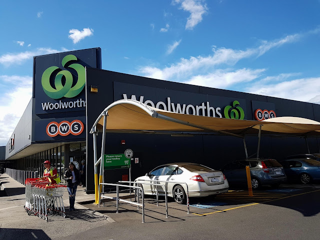 【墨尔本购物】Woolwolfs 超市买杂货| 免费水果安抚小孩