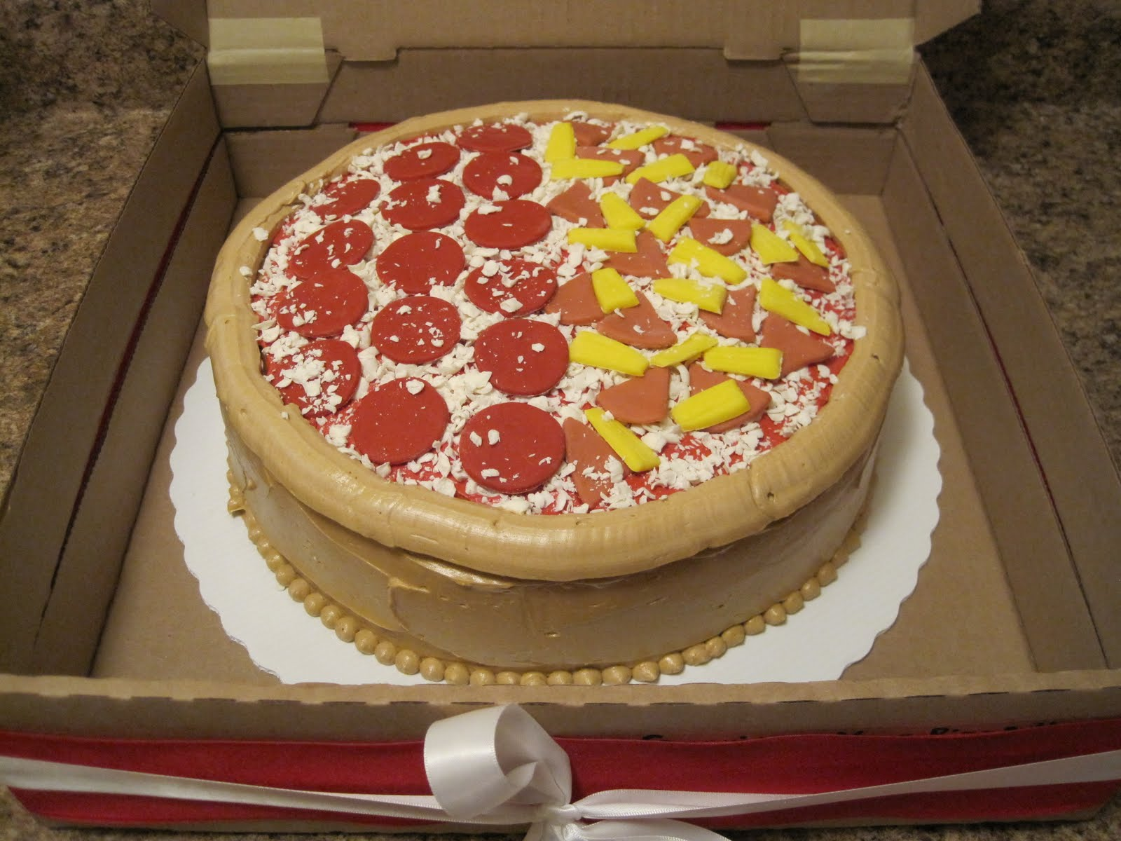 pizza birthday cake cake place pizza cake with tutorial 6618