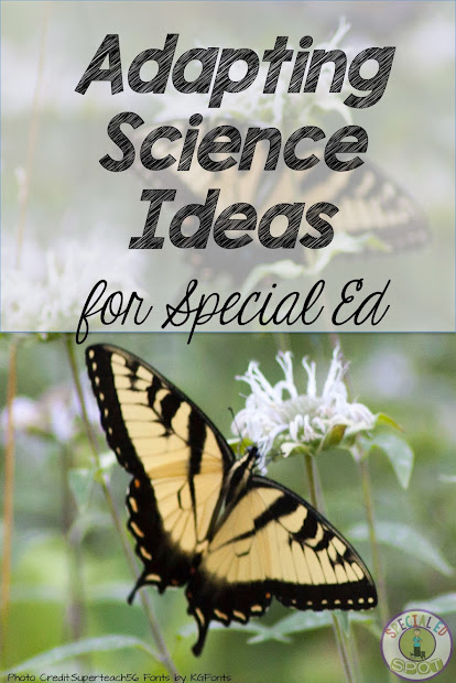 Science Ideas In Special Ed Classroom - Superteach'