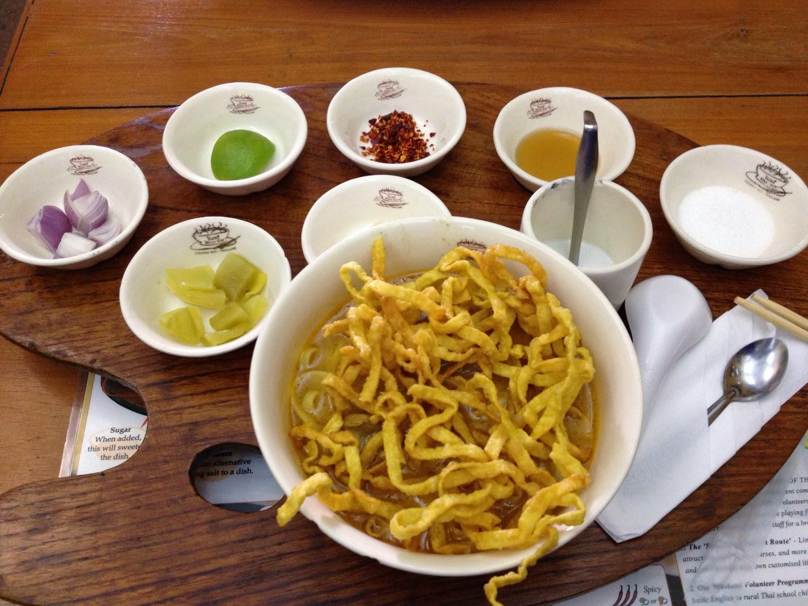 Chiang Mai - Khao Soy at Just Khao Soy restaurant