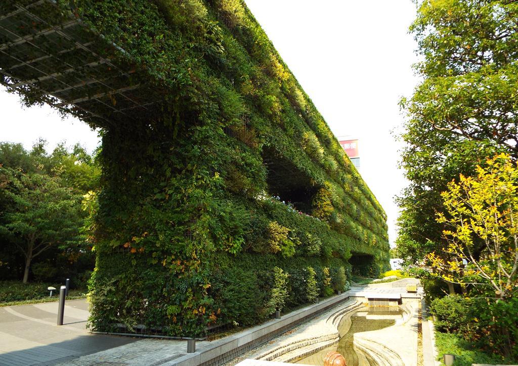Il Priscio Del Design Il Giardino Verticale Di Tadao Ando