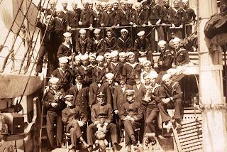 USS Wolverine crew 1913