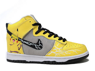 buy online 4f73f 6352f Cartoon High Tops Nike: Pikachu Nike Sneakers Pokemon High ...