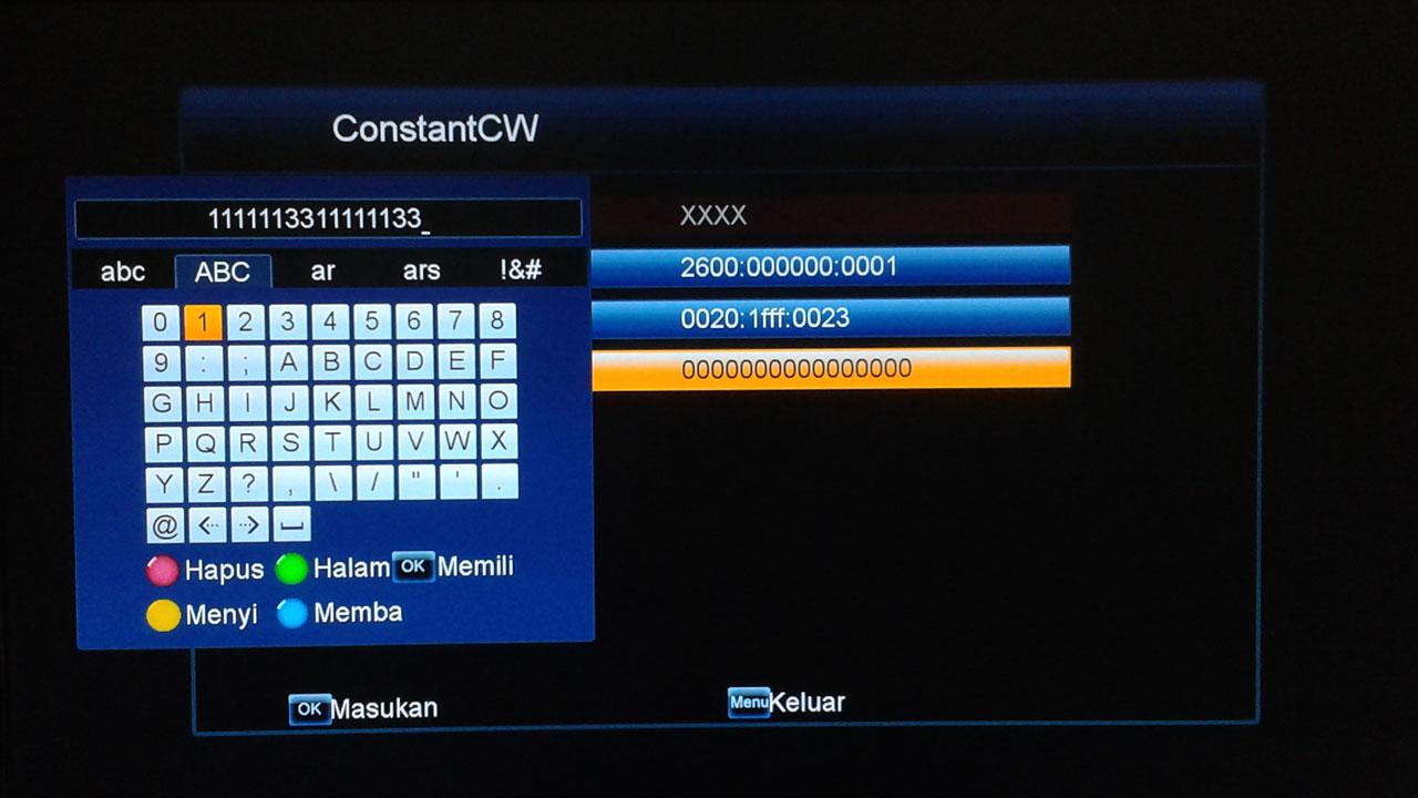Cara Isi Biss Key Skybox A1 Plus H.265 Update Terbaru