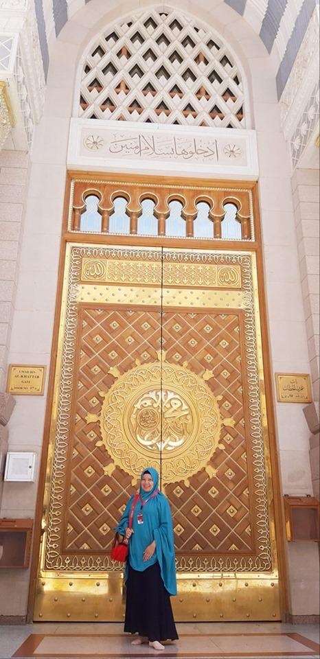 masjid nabawi termegah dengan payung cantik nan memesona sepanjang sejarah madinah al munawwarah al hijaz nurul sufitri mom lifestyle blogger traveling umroh