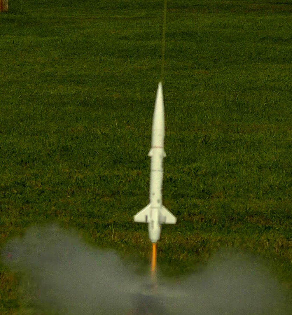 The Rocket Then Fell At 24 Mph And Landed 300 Feet Upwind But No Damage Other Than Parachute