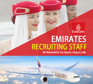 JOB VACANCY IN EMIRATES AIRLINE  DUBAI UAE 2019