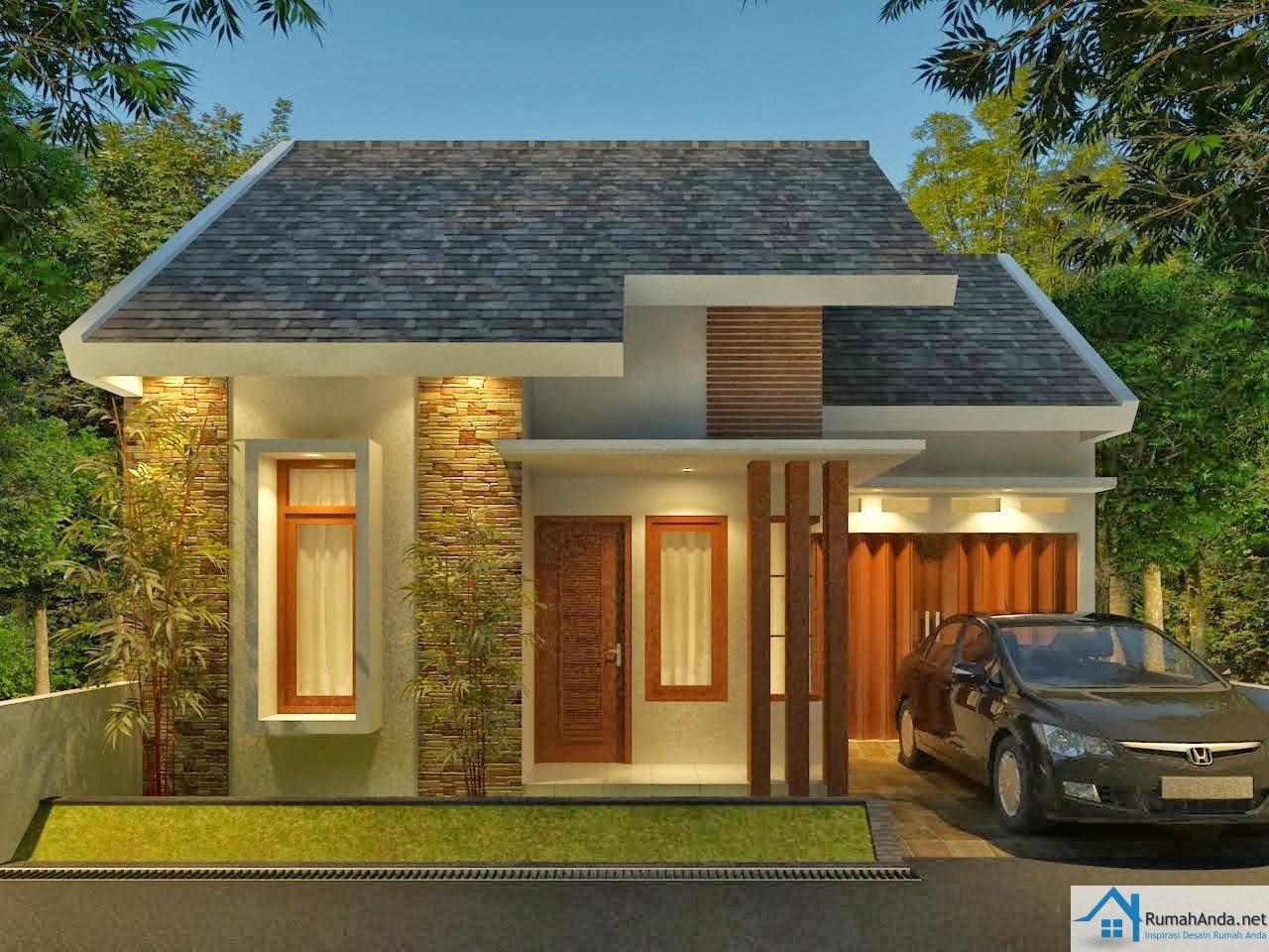 107 Desain Rumah Modern Minimalis 1 Lantai 2015 Gambar Desain