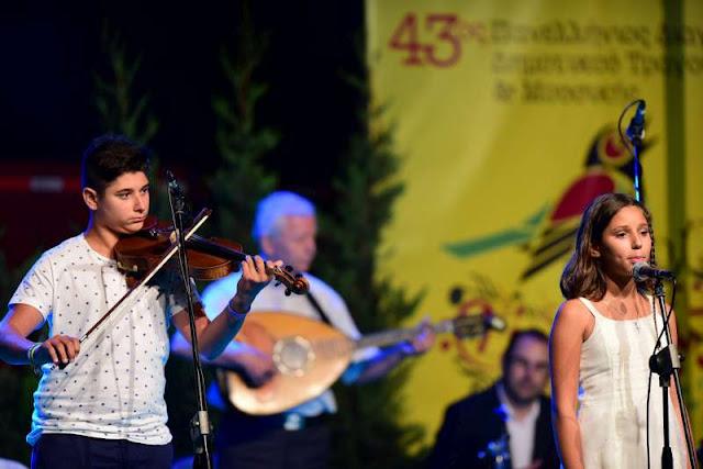 44ος Πανελλήνιος Διαγωνισμός Δημοτικού Τραγουδιού στα Λαγκάδια Γορτυνίας