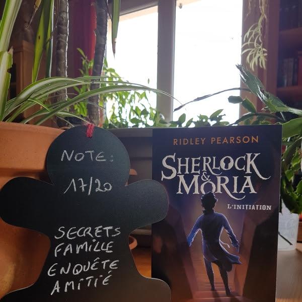 Sherlock & Moria : L'initiation de Ridley Pearson
