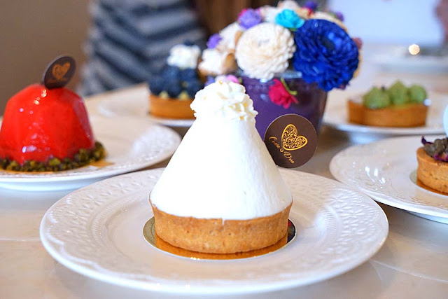 DSC02000 - 熱血採訪│隱藏在台中七期的藍帶甜點,金心盈福Cuore D'oro法義甜點