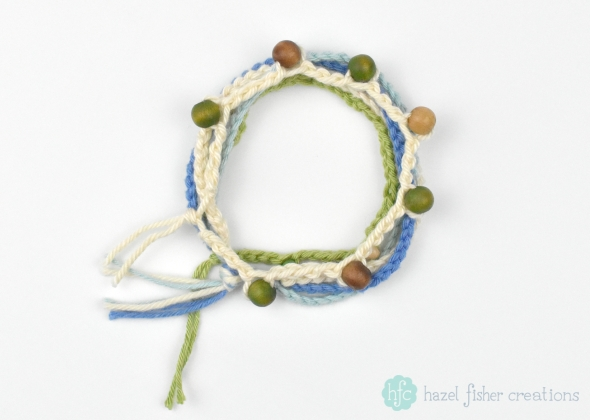 Crochet for Beginners Learn How to Make a Simple Bracelet Skillshare class by Hazel Fisher Creations