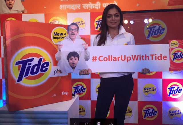 Tide Plus Launched in India as DRASHTI DHAMI, MOUNI ROY, NAMRATA SHIRODKAR AND JASMIN BHASIN put their #CollarUpWithTide