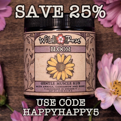 Image of WIld Rose Coupon 'HAPPYHAPPY5' for 25% off