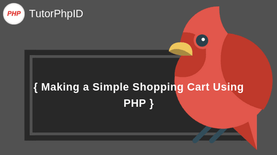 Simple Shopping Cart Using PHP