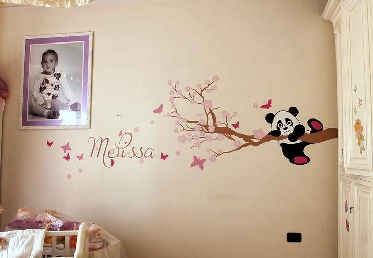 Decora interni decorazioni moderne alle pareti di camerine - Decorazioni su pareti ...