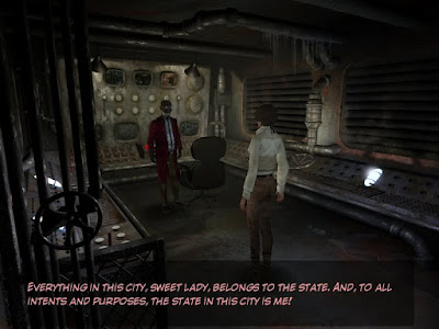 Syberia Conversation Screenshot