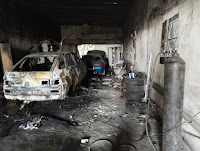 (ФОТО) Причина пожара: нарушение требований и норм пожарной безопасности при проведении сварочных работ