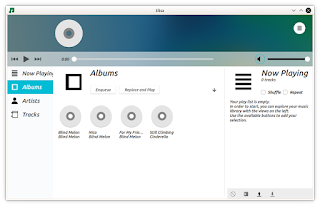 Elisa music player v 0.1