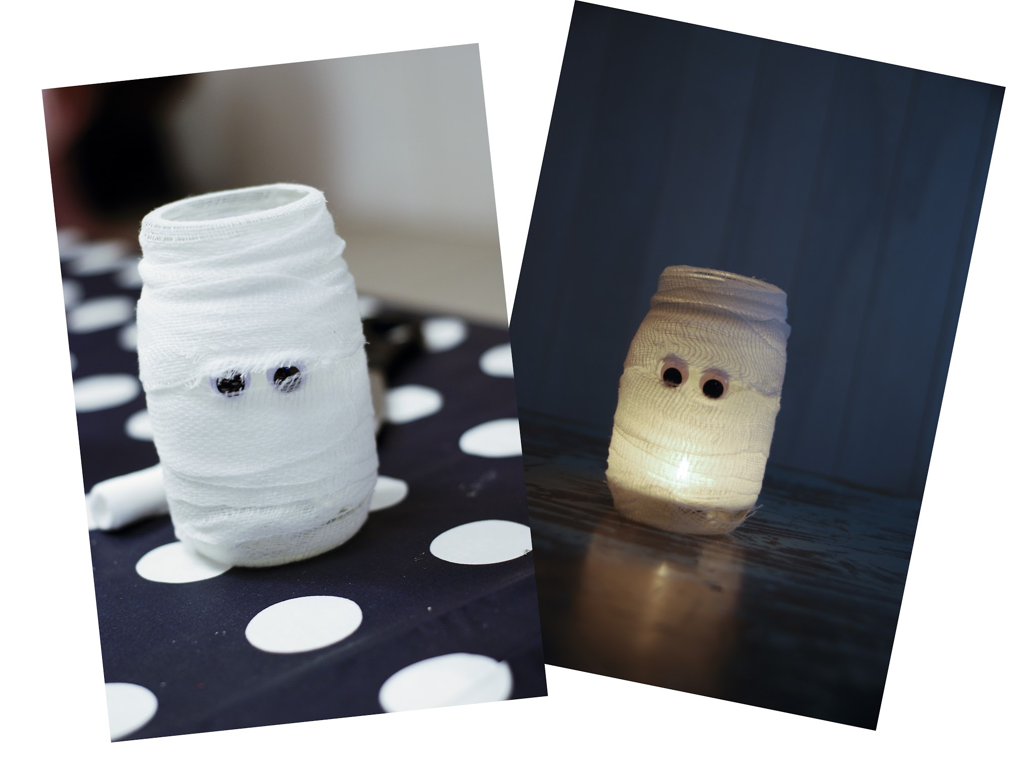 mummy mason jar