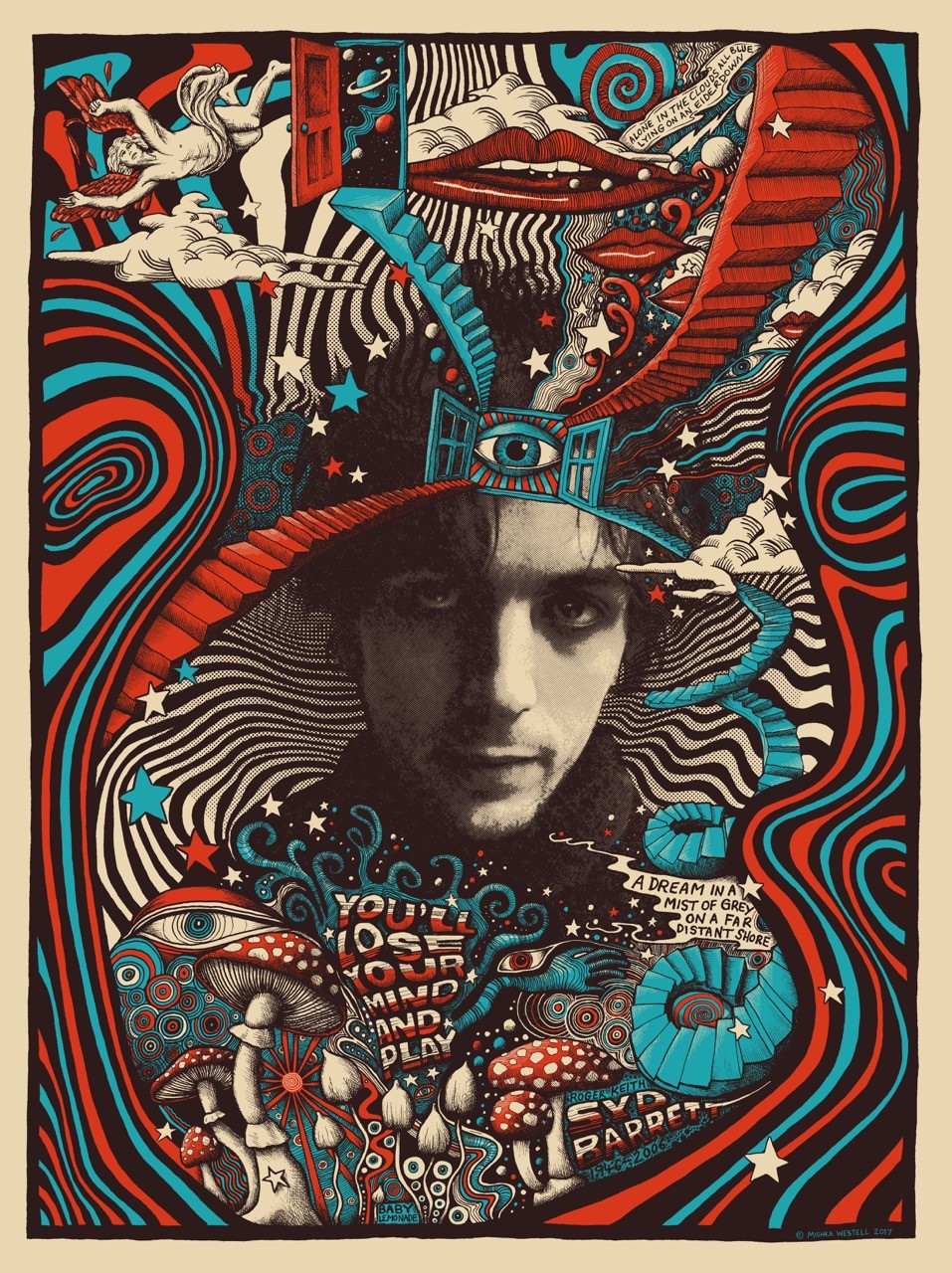 INSIDE THE ROCK POSTER FRAME BLOG: Mishka Westell Syd ...
