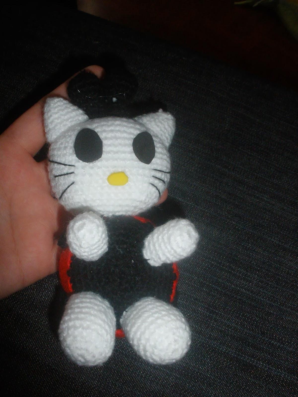 amigurumi mini-hello kitty mariquita