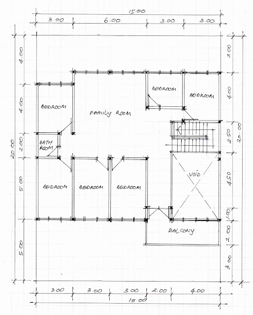 2nd floor plan of home image 06