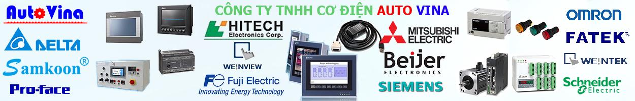 AC Servo|PLC|Màn hình HMI Delta,Mitsubishi, Fuji, Weintek, Omron, Samkoon, Proface, Hitech, Siemens