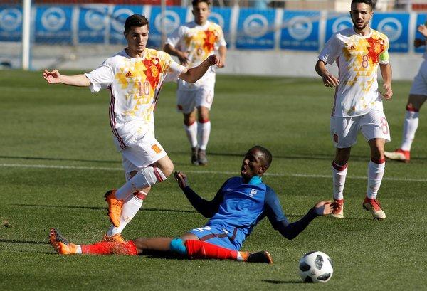 España Sub-19, los malaguistas Álvaro Fernández y Álex Robles se quedan sin Europeo Sub-19