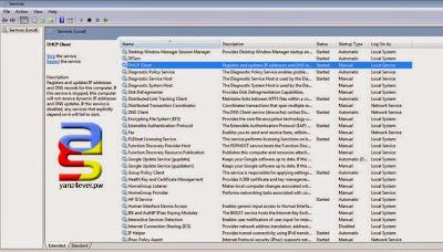 ip conflict windows services.msc
