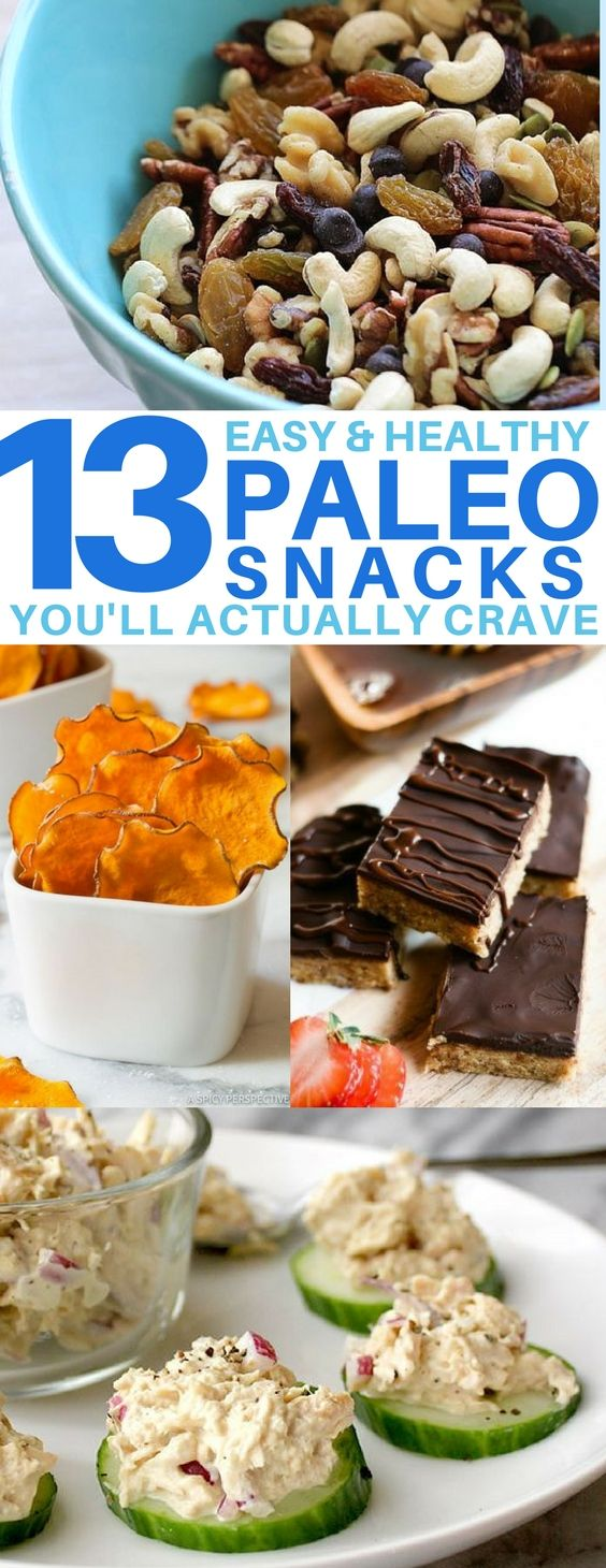 13 Low Carb Paleo Snack Recipes You'll Actually Crave