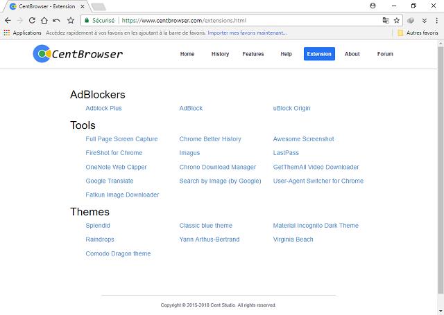 تحميل متصفح الويب Cent Browser السريع والرائع للويندوز آخر إصدار