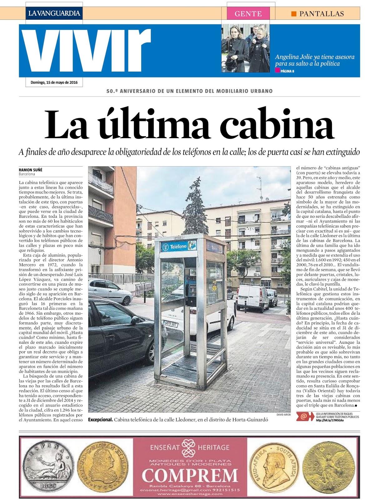 La buena prensa la ltima cabina for La cabina di zio ben