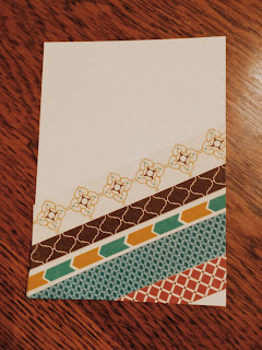 stampin' Up! Moroccan Washi Tape Samples