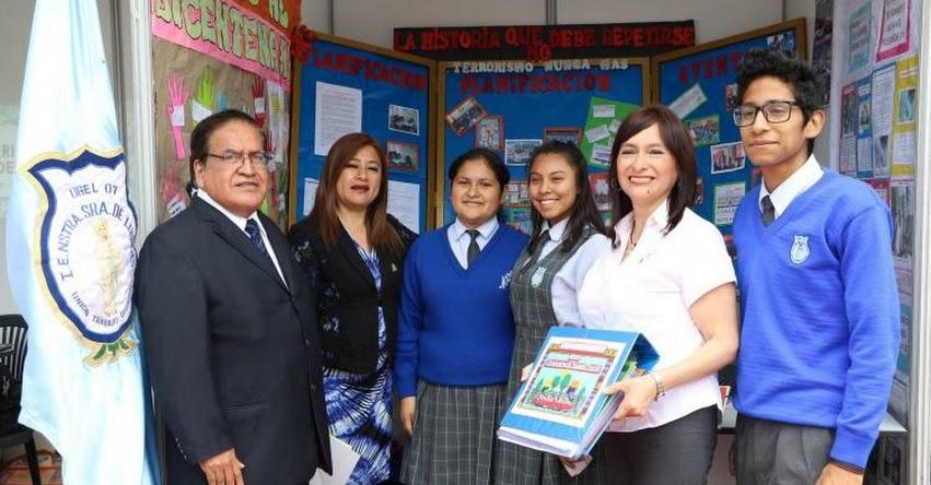 TODOS JUNTOS POR UN BUEN AÑO ESCOLAR: Colegios de la UGEL 07 participan en Feria del «Día del Logro 2018»
