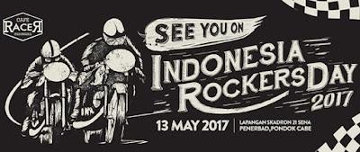Doyan Motor Klasik atau Custom? Wajib dateng ke Indonesia Rockers Day 2017!