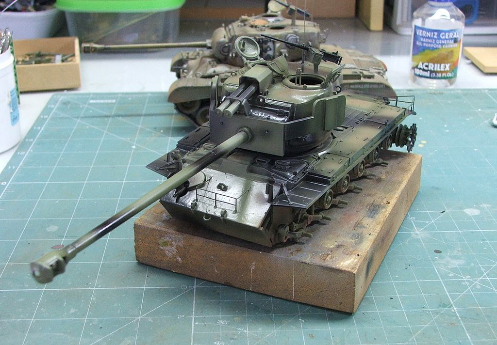 Panzerserra Bunker- Military Scale Models in 1/35 scale: T26E4 Super Pershing prototype n.1 ...